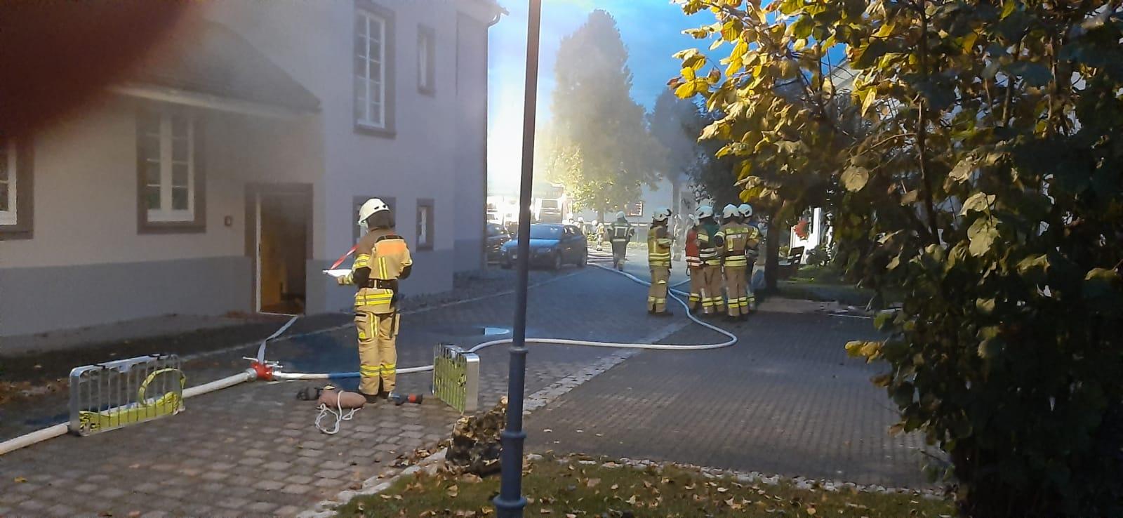 Abschnitt Brandbekämpfung / Menschenrettung